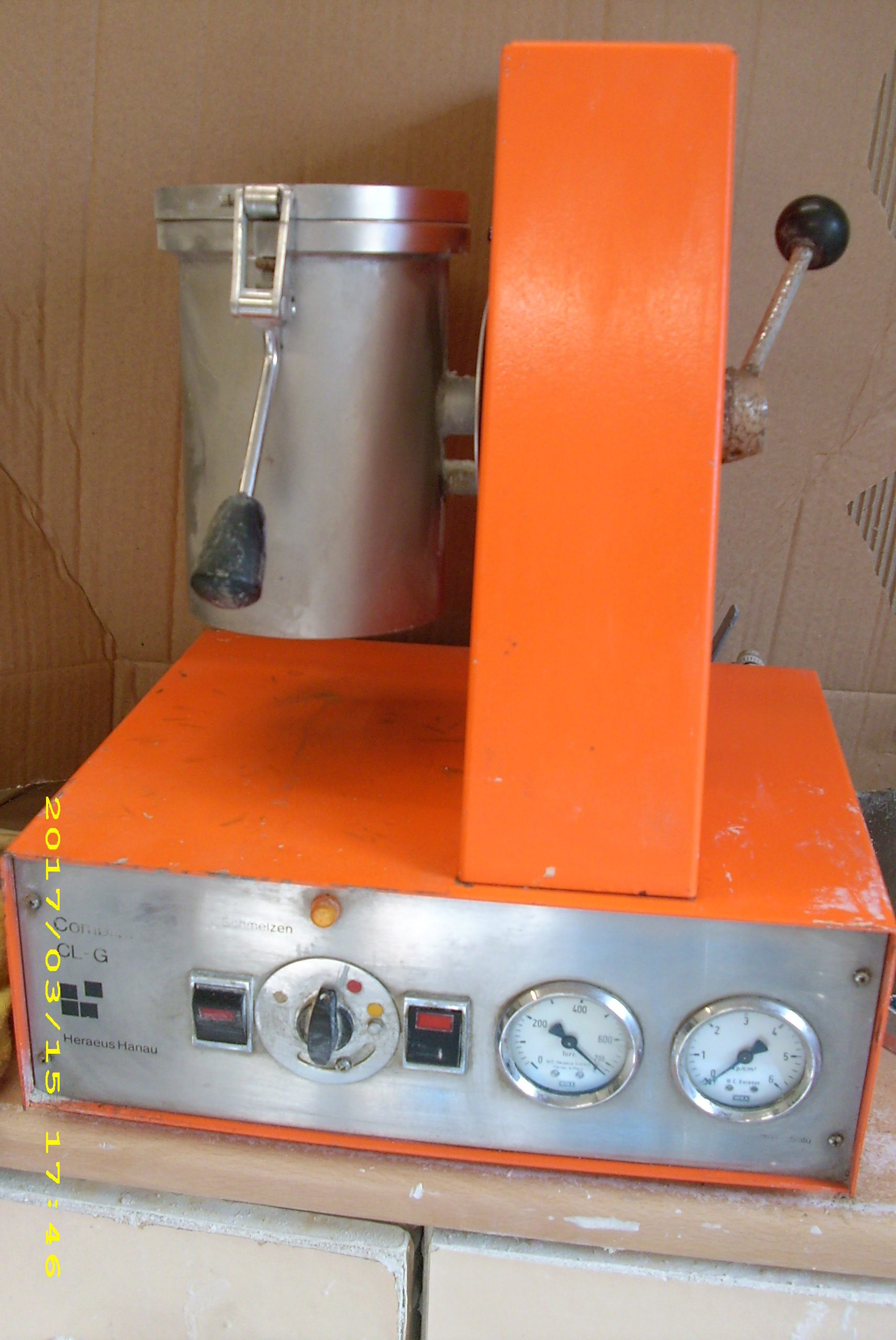 CLG casting machine will include matching furnace and vacum pump